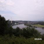 Das Ruhrtalaussicht vom Hakortberg aus fotografiert